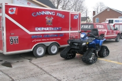 Special Ops Trailer and Old Wheeler #61
